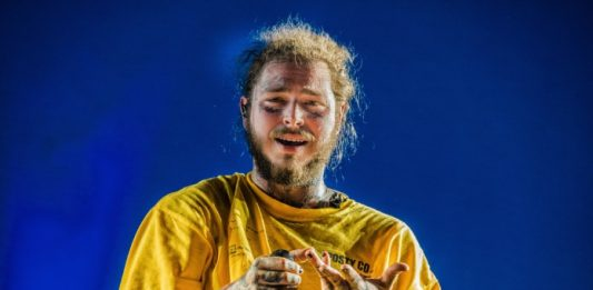 Post Malone no Rock Werchter 2018