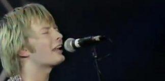 Primeira vez do Radiohead na televisão