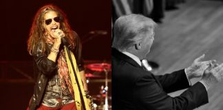 Steven Tyler e Donald Trump