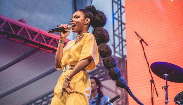 Xênia França no Festival Queremos!