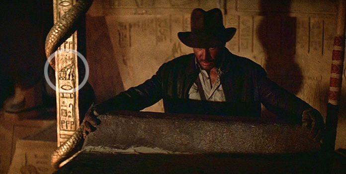 Referência a Star Wars em Indiana Jones.