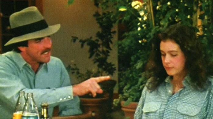 Audição de Tom Selleck para o papel de Indiana Jones.