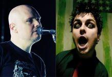 Billy Corgan (Smashing Pumpkins) e Billie Joe Armstrong (Green Day)