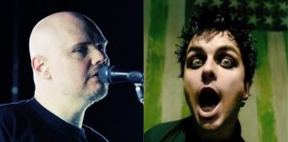 Billy Corgan (Smashing Pumpkins) e Billie Joe Armstrong (Green Day)