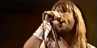 Bruce Dickinson Iron Maiden 1985
