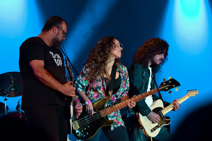 Camarones Orquestra Guitarrística no Samsung Best of Blues 2018-5