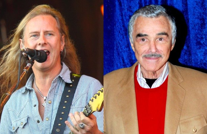 Jerry Cantrell (Alice in Chains) e Burt Reynolds