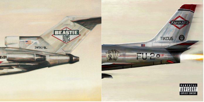 Licensed to ill (Beastie Boys) e Kamikaze (Eminem)