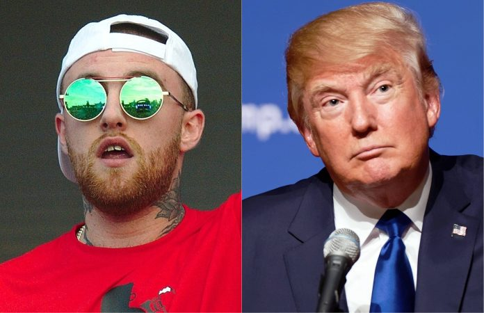 Mac Miller e Donald Trump