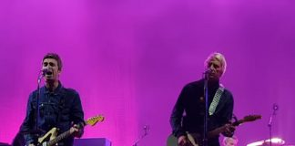 Noel Gallagher e Paul Weller no Downs Festival