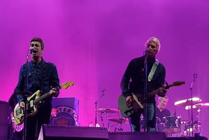 Noel Gallagher e Paul Weller no Downs Festival