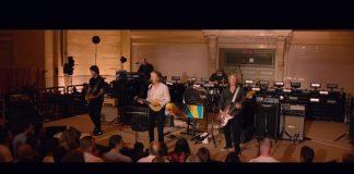 Paul McCartney durante show em Nova York