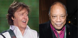 Paul McCartney e Quincy Jones