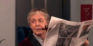 Paul McCartney no quadro de Jimmy Fallon