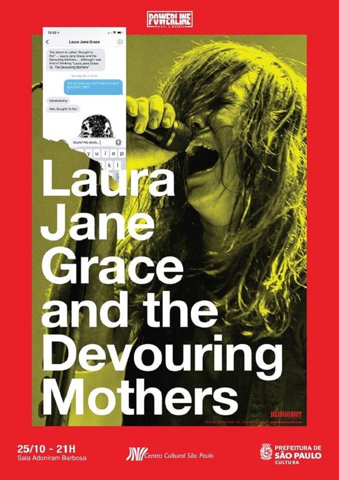 Poster Laura Jane Grace SP