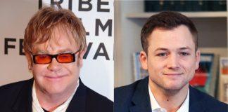 Taron Egerton e Elton John