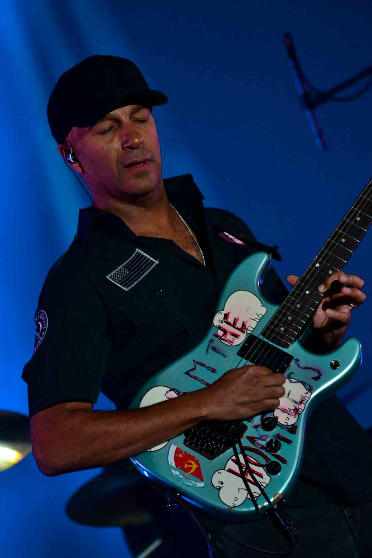 Tom Morello no Samsung Best of Blues 2018