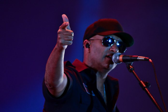 Tom Morello no Samsung Best of Blues 2018-5