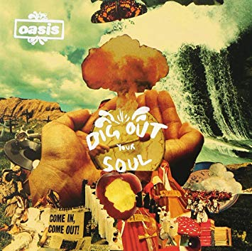 "capa do disco ""dig out your soul"" do oasis"