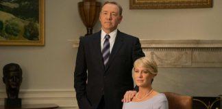 Frank Underwood e Claire Underwood em House Of Cards