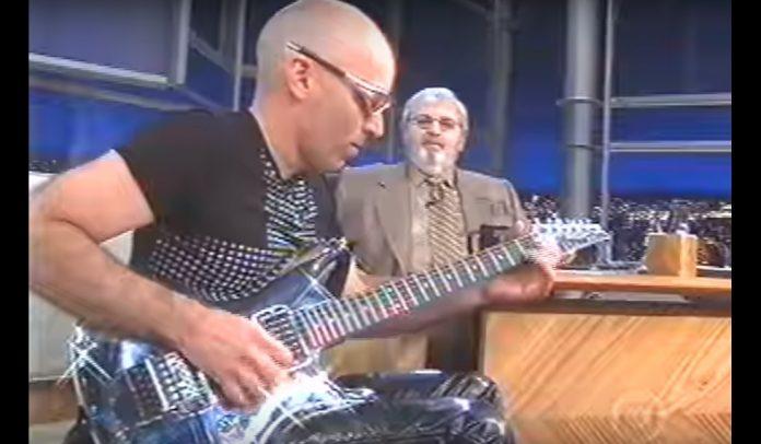 Joe Satriani no Programa do Jô