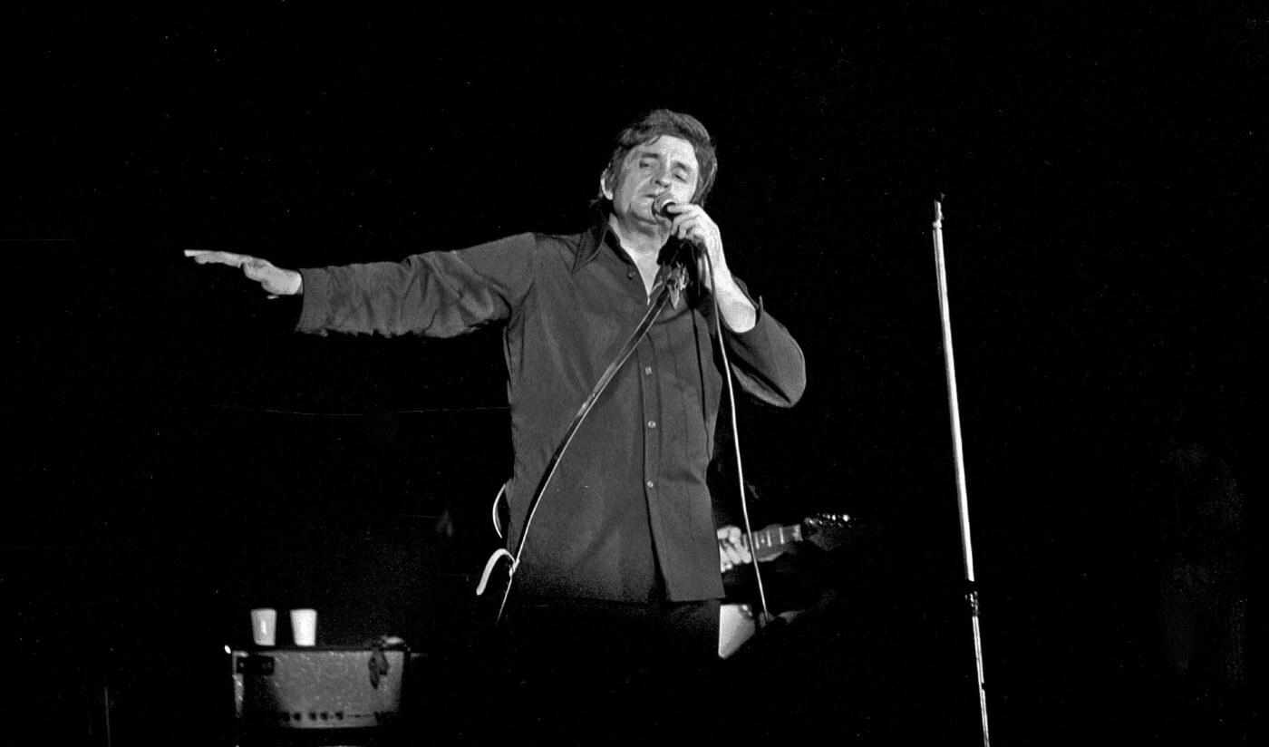 Johnny Cash em 1972