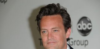 Matthew Perry em 2010