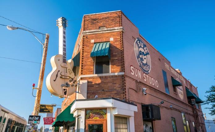 Sun Studio, em Memphis