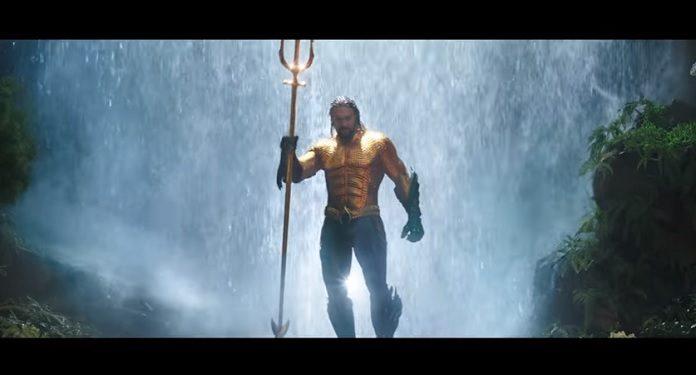 Aquaman Trailer estendido