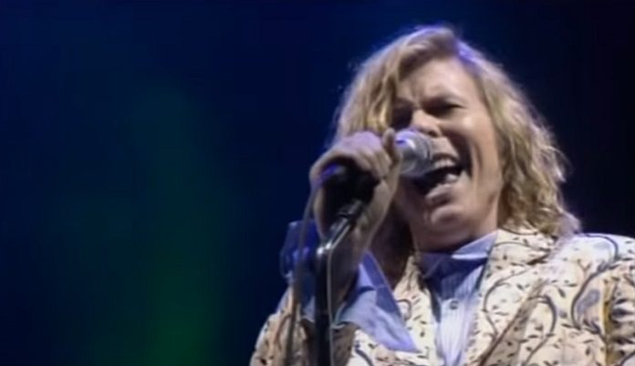 David Bowie no Glastonbury em 2000