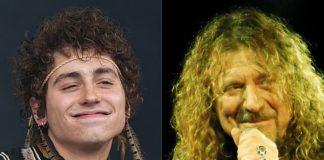 Josh Kiszka (Greta Van Fleet) e Robert Plant (Led Zeppelin)