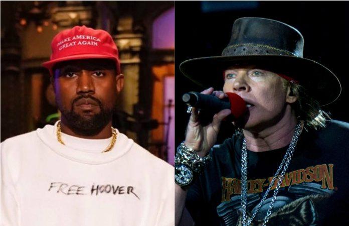 Kanye West e Axl Rose