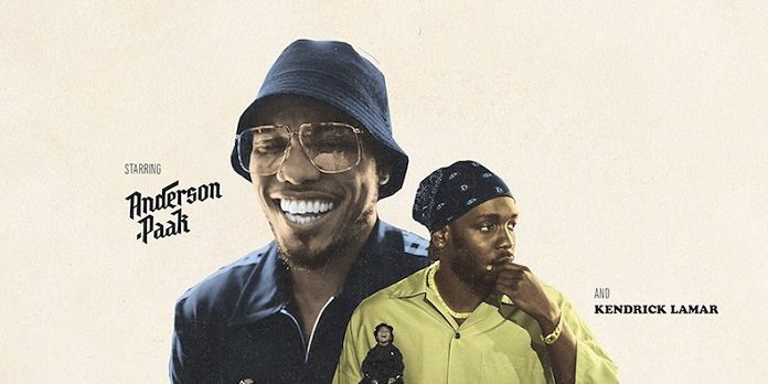 Kendrick Lamar e Anderson Paak em Tints