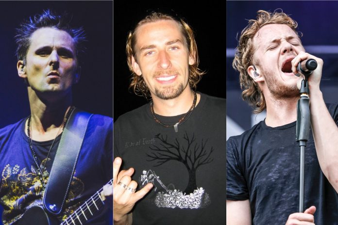 Muse Nickelback e Imagine Dragons