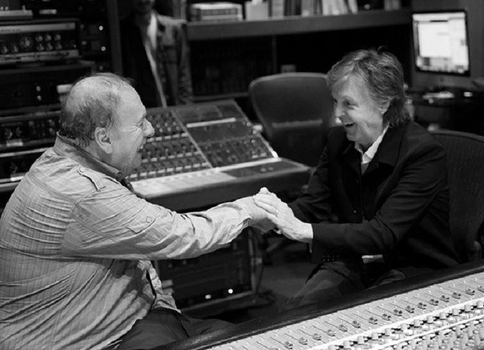 Paul McCartney e Geoff Emerick