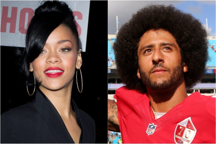 Rihanna e Colin Kaepernick