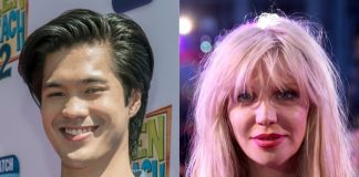 Ross Butler e Courtney Love