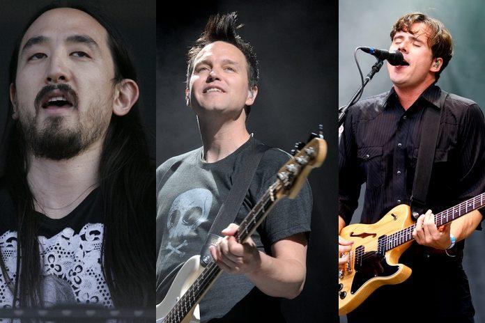 Steve Aoki, Blink-182, Jim Adkins