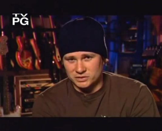Tom Delonge (blink-182) 2003