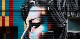 Mural de Amy Winehouse em Nova York