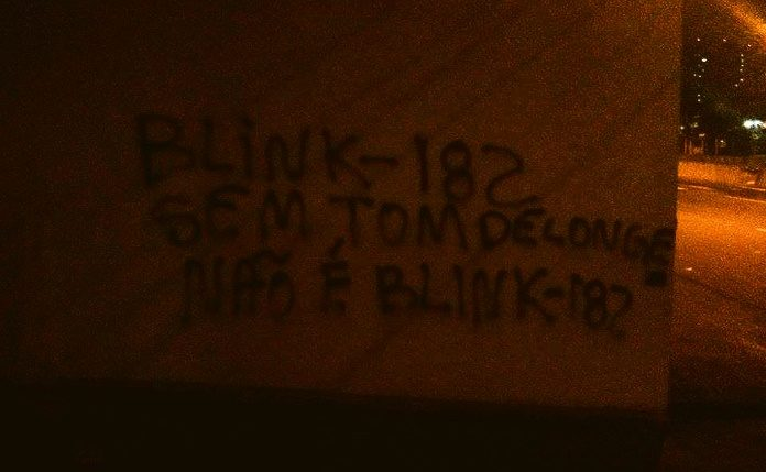 Blink-182 sem Tom DeLonge