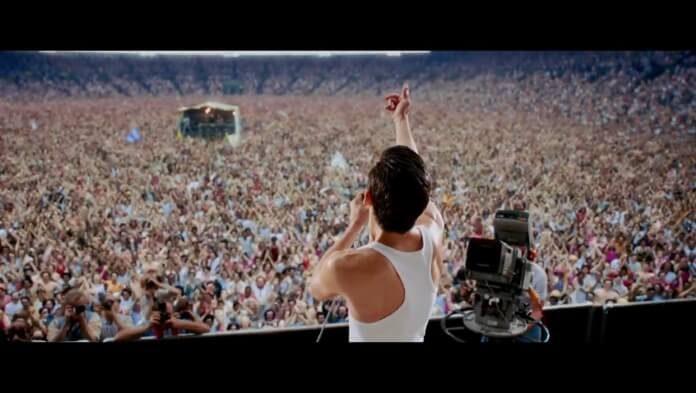 Cena do filme Bohemian Rhapsody
