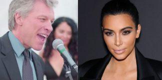 Bon Jovi e Kim Kardashian