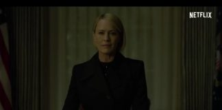 Claire Underwood no trailer de House Of Cards