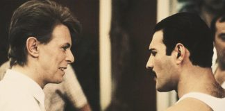 David Bowie e Freddie Mercury