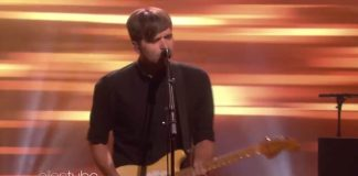 Death Cab For Cutie no programa da Ellen