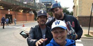 Eddie Vedder em partida do Chicago Cubs