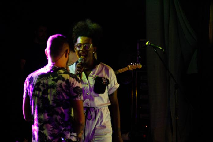 Liniker e os Caramelows no Pipoca Festival