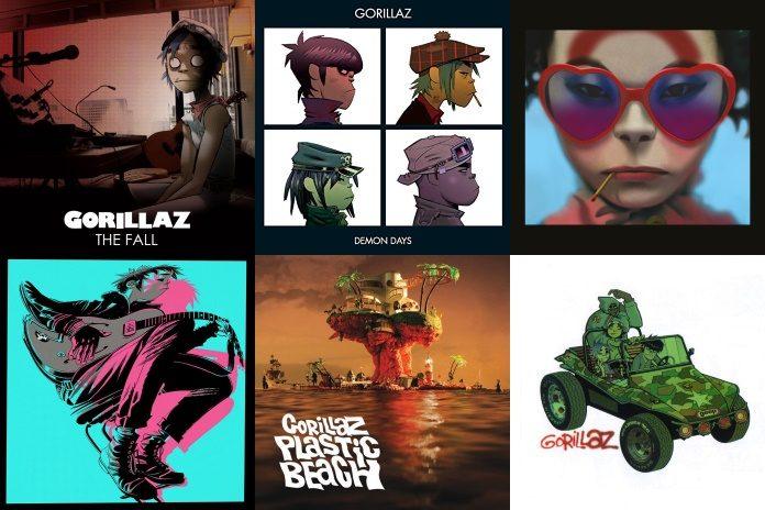 Discografia do Gorillaz