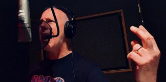 Greg Graffin gravando novo disco do Bad Religion